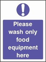 Food Processing and Hygiene Sign FOOD0003-0592