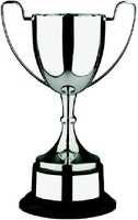 35cm Swatkins Nickel Plated Cup & Black Base