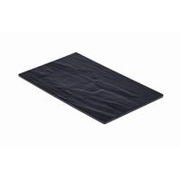 Melamine Slate Platter 1/4GN 265x160mm