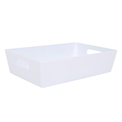 Wham Studio Tray 17x25cm Rectangular 4.01 Ice White