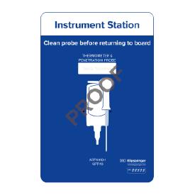 Instrument station for 1x instrument
