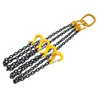 Neilsen Lifting Chain 2 Meter 4 Legs 4 Ton