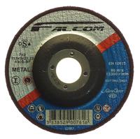 "FALCOM STEEL CUTTING DISC DEPRESSED CENTRE 4.5"""