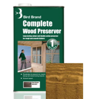 5L Bird Brand Clear Wood Preserver