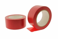 50mm Red Adhesive Floor Tape