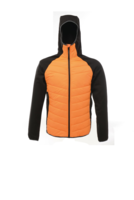 Regatta TRA446 Deerpark Down Touch Hybrid Orange Jacket