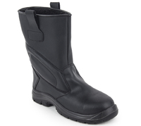 Powerlite Black Rigger Boot Fur Lined S3 SRC