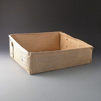 Large Jute Tray 400 x 320 x 150mm