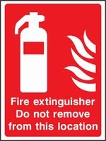 Fire Equipment Sign FEQP0006-0464