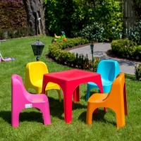 Kid's Table & 4 Chairs
