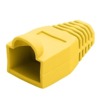 RJ45 Strain Relief Boot - Yellow