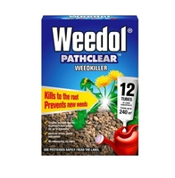 Weedol Pathclear Weedkiller 12 Tubes - 240m2