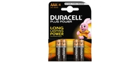 Duracell AAA 4 Pack Plus Power