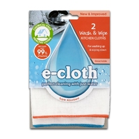 E-Cloth Wash & Wipe Cloth 2pk