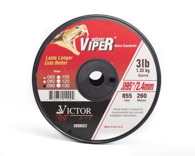 Viper Nylon Line 3lb Spool X 2.4mm