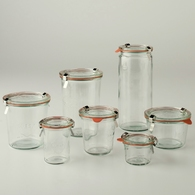 Weck Storage/Canning Jars