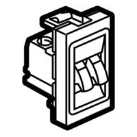 Arteor  Loudspeaker Socket - Magnesium  | LV0501.0078