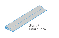 2.50m - 2 PART START/FINISH TRIM CLOUD