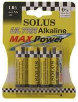 SOLUS LR6/AA 18x4 BATTERIES