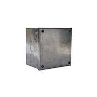 4 x 4 x 3 Galvanised Knockout Adaptable Box