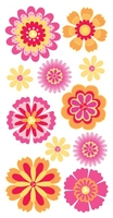 Floral Fusi Flowers Essential Craft Sticker.