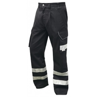 Ilfracombe Cargo Trousers Black