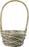 Alana Willow Basket Birds Nest Oval 24cm