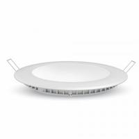 6W LED Premium Panel Downlight - Round 3000K