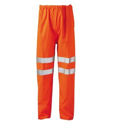 Victory Flame Retardant Anti Static Hi-Visibility Trousers Orange