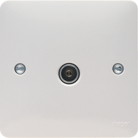 Single CO-AX TV Socket Outlet Female | LV0301.0755