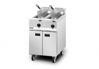Lincat Opus OG8111/N Twin Tank Natural Gas Fryer & Basket