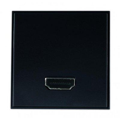 Triax HDMI Insert Black  (50 x 50) (304293)