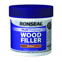 Ronseal Multi Purpose Wood Filler Tub 465g Medium