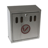 Wall Mounted S/S Ash Tray Lockable