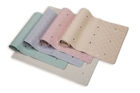 Rubber Bath Mat Cream 34x74cm