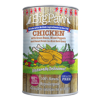 Little Big Paw Dog Can - Chicken Potato Peppers Beans & Herbs 390g x 12