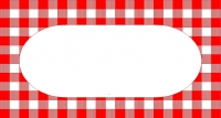 Red Check Labels