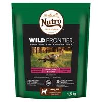 Nutro Wild Frontier Medium Dog Turkey & Chicken 1.5kg