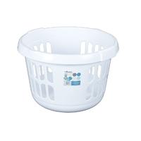 WHAM Round Laundry basket Ice White