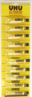 UHU ALL PURPOSE CLEAR ADHESIVE GLUE 7 ML