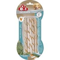 8in1 Delights Dental Twist Sticks - 10-Piece x 6