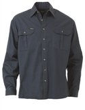 Bisley Cotton Drill Long Sleeve Shirt 190gsm