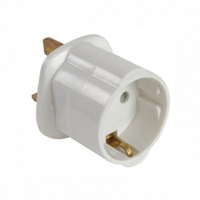 Convert Mains EU plug To UK (Ubiquiti, etc)