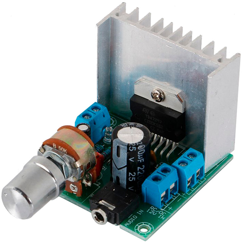 Amplifier Board Power TDA7297 double channel