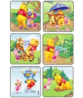 MEDIBADGE - SUNNYTIME POOH & PALS STICKERS