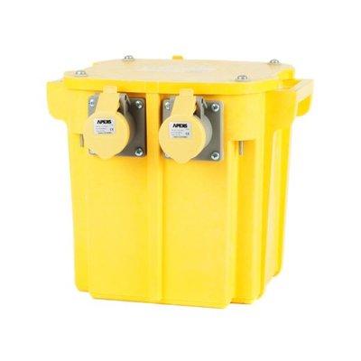 PT 240/110V Portable Tool Transformer 1ph 3 Socket (5.0kVA)