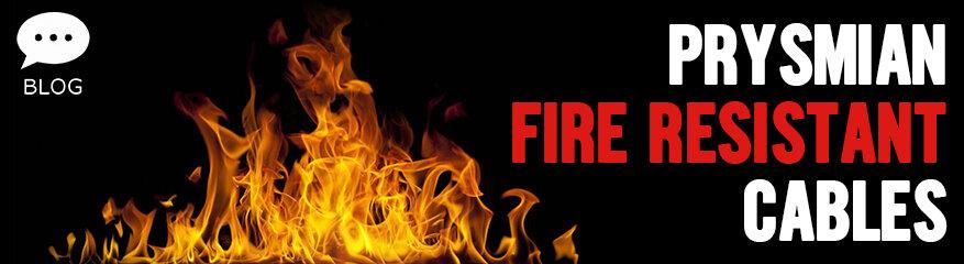 Prysmian Fire Resistant Cables