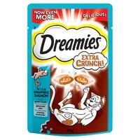Dreamies Extra Crunch Cat Treats - Salmon 60g x 8