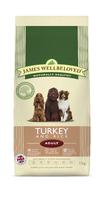 James Wellbeloved Adult Dog - Turkey & Rice 15kg