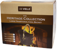 De Vielle Heritage Traditional Coal Bucket Brass Effect Trim (La